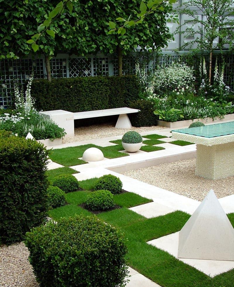 сад правильной геометрической формы фото помощи