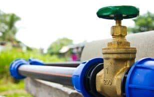 Ход строительства водопровода и канализации