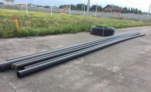 Первые шаги строительства газопровода в КП «Алешинские просторы»